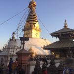 Swayambunath tempel, Kathmandu, Nepal