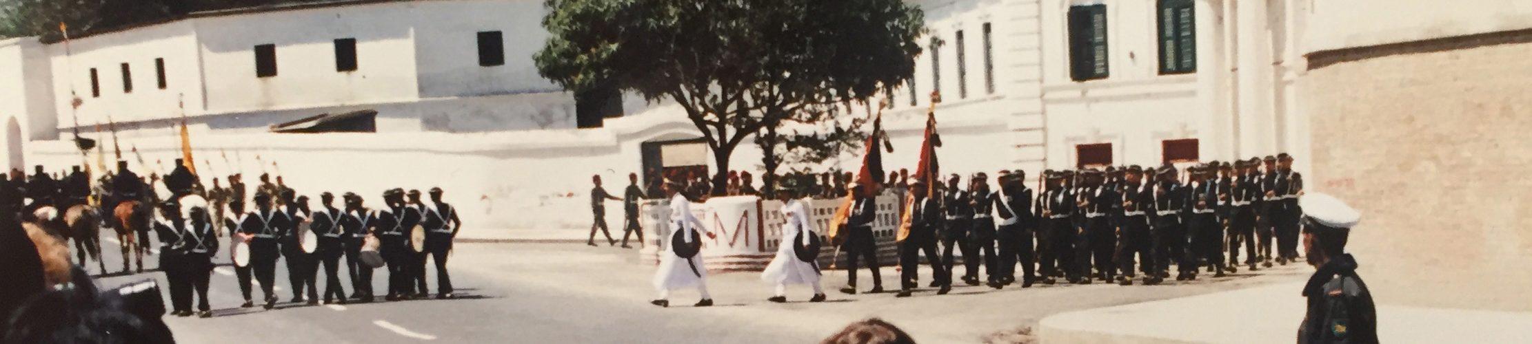 Kathmandu-1987-festival-Nepals-konge