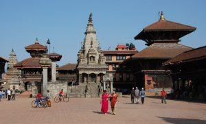 Information om Nepal -Bhaktapur Durbar square