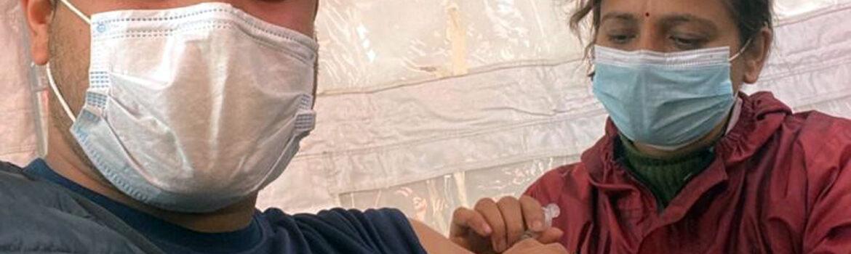 Corona vaccination Nepal