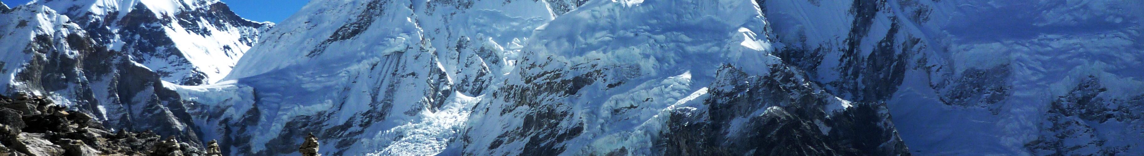 Mount Everest fra Kala Pattar
