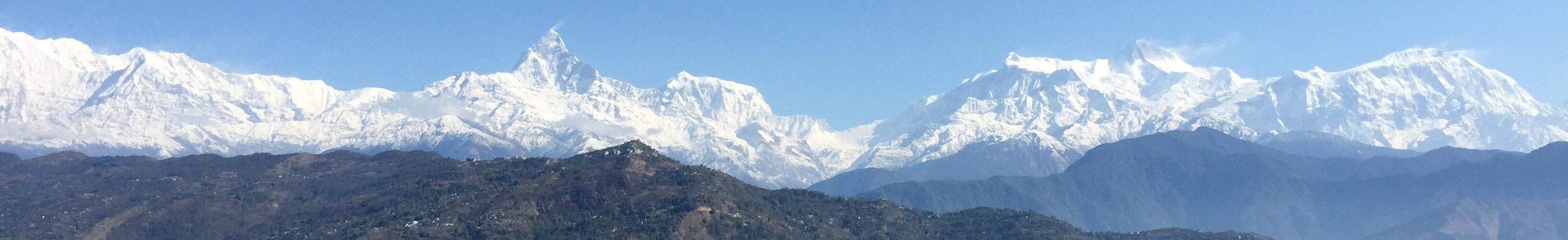 Fiskehalebjerget i Nepal