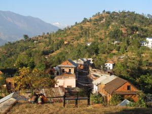 Information om Nepal - Nuwakot, bjergudsigt