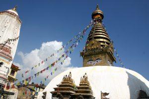 Information om Nepal - festival Swayambhunath